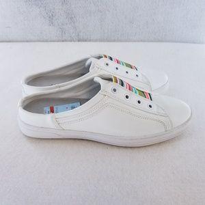 Anne Klein Sport Zasa White Slip On Sneakers Sz 7